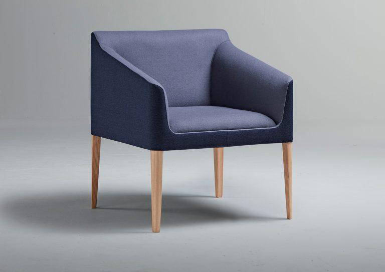 Blue Kyoto armchair