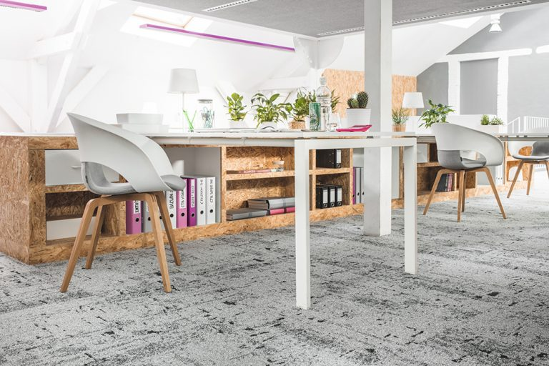 Carpet in office