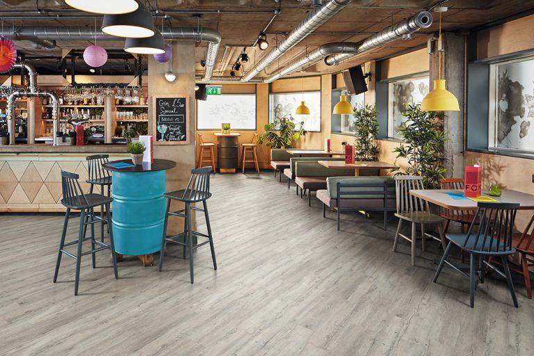 Restaurant Bar with Karndean LVT flooring