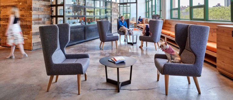 restuarant bar with naughtone furniture