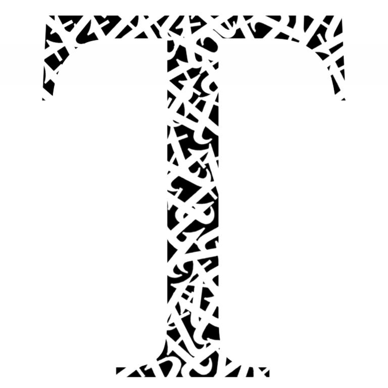 T logo by HLM