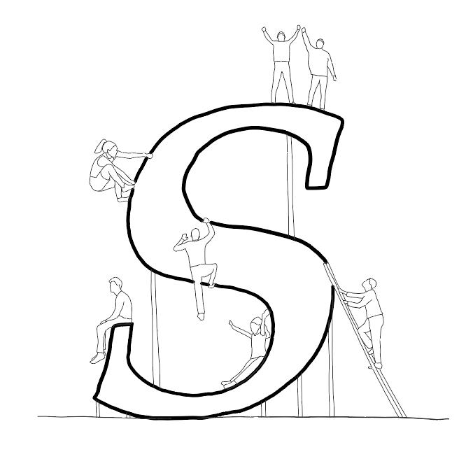 S logo by tp bennett